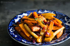 Candied Root Vegetables
